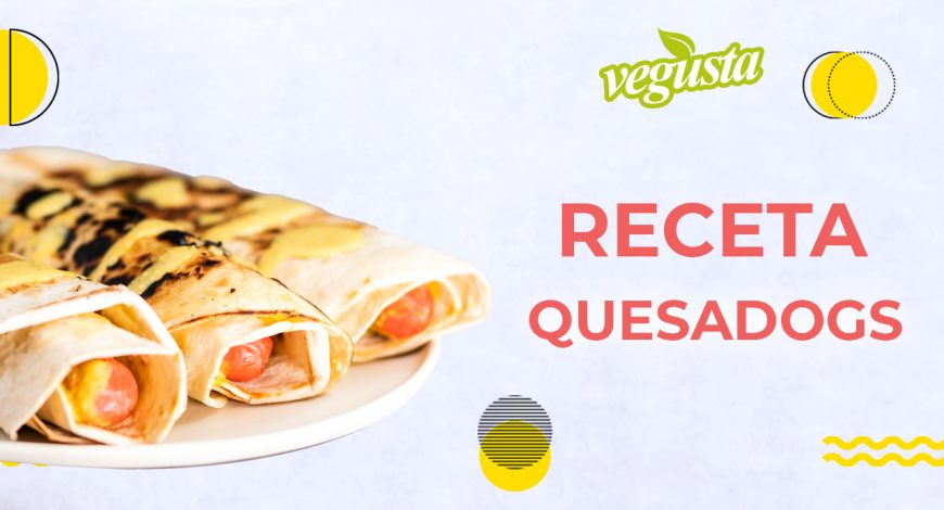 receta quesadog vegan