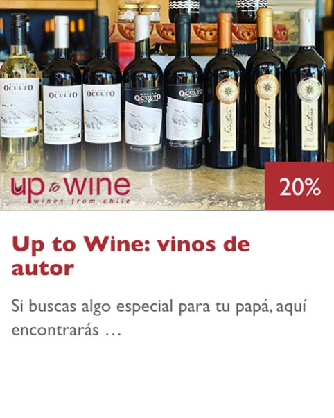 up to wine beneficios caja vegana